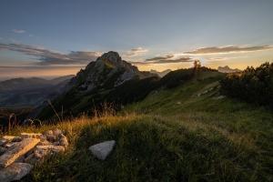 Sunrise - Ponten - Tannheimer Tal  (Available for Print)