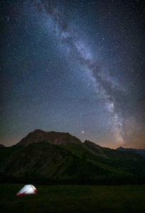 Perseids - Gaishorn - Tannheimer Tal  (Available for Print)