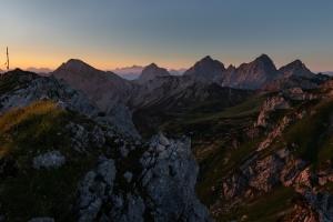 Sunrise - Tannheimer Tal  (Available for Print)